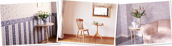 クロスを張り替えるだけでお部屋は、驚くほどキレイに甦ります!